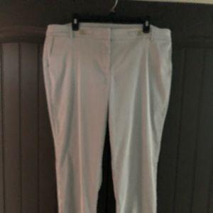 Anne Klein Skinny Stripe Ankle Pants